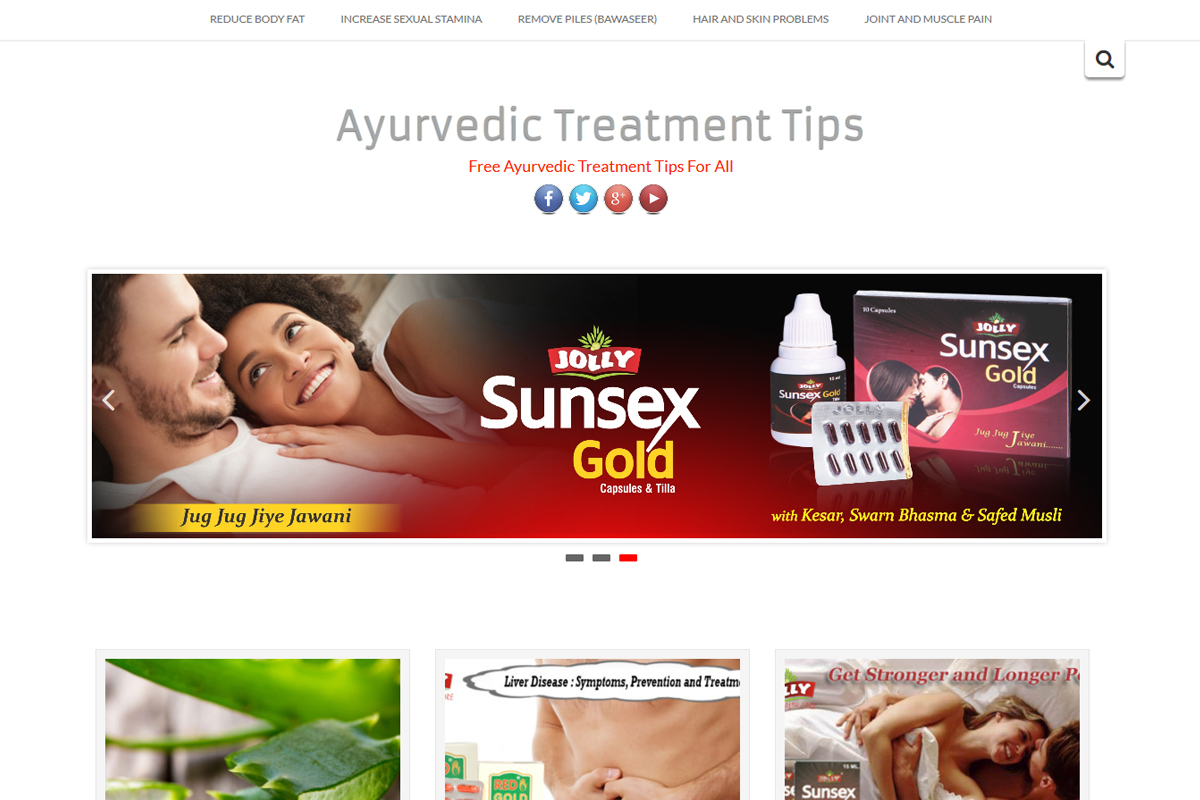 Ayurvedic Treatment Tips