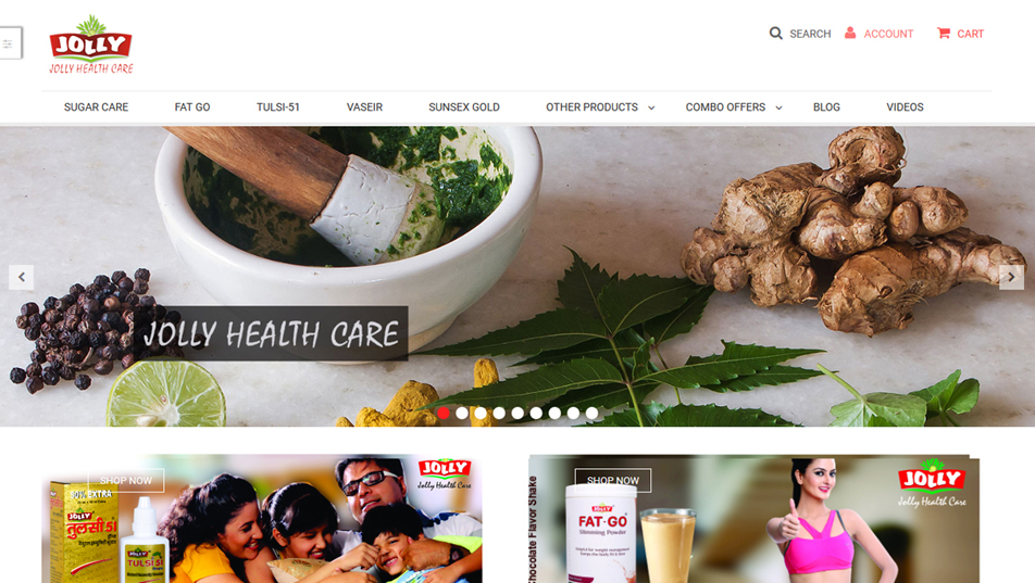 Jolly Health Care Online