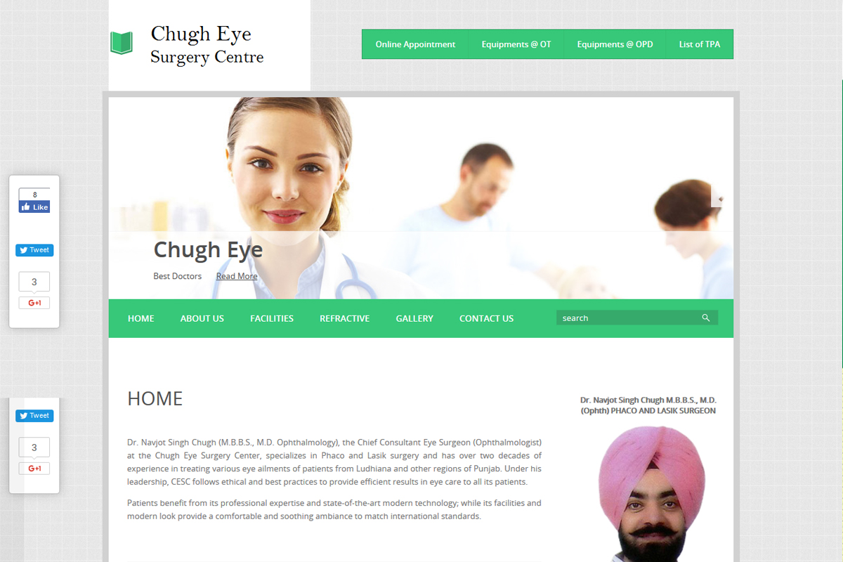 Chugh Eye Surgery Center
